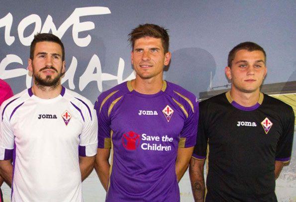 Presentazione maglie Fiorentina 2014-2015
