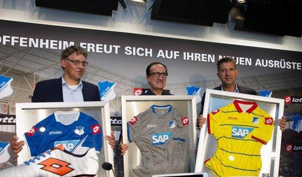 Presentazione maglie Hoffenheim 2014-2015 Lotto