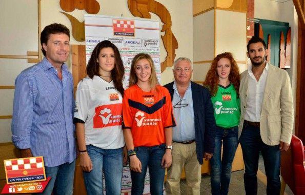 Presentazione maglie Pistoiese 2014-2015