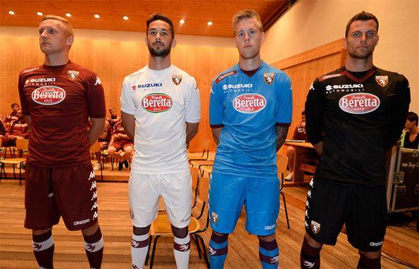 Presentazione maglie Torino 2014-2015