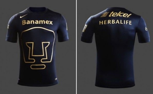 Seconda maglia Pumas Unam 2014-2015