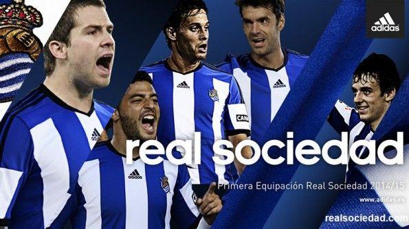 Prima Maglia Real Sociedad 2014-2015