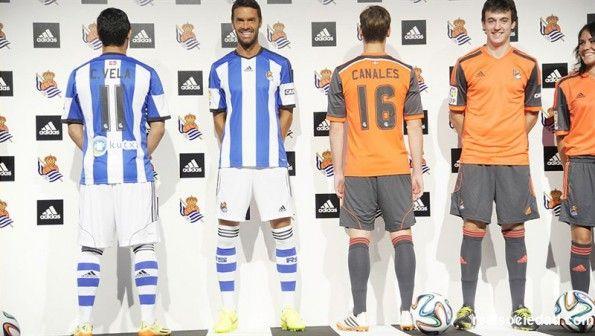 Maglie Real Sociedad 2014-2015