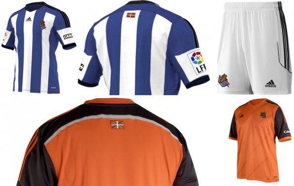 Dettagli Maglie Real Sociedad 2014-2015