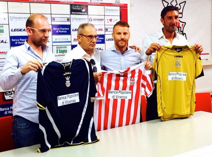Maglie Real Vicenza 2014-2015