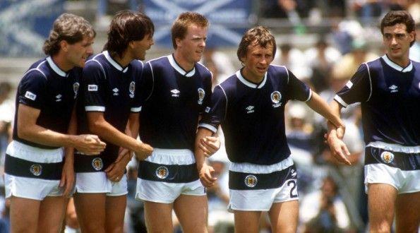 Scozia, pantaloncini Mondiali 1986