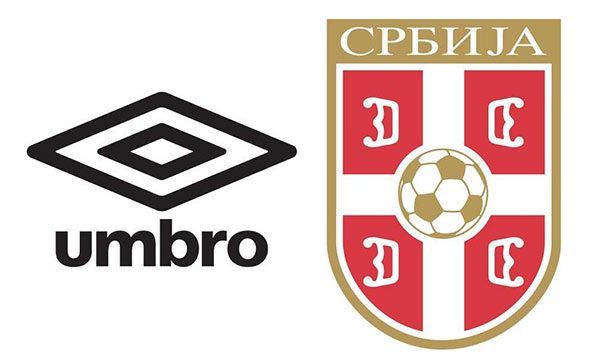 Umbro sponsor tecnico Serbia