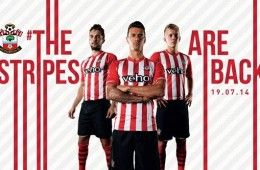 Southampton kit Home 2014-2015