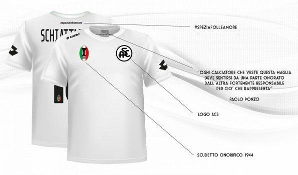 Prima maglia Spezia 2014-2015