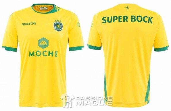 Seconda maglia Sporting Lisbona 2014-2015