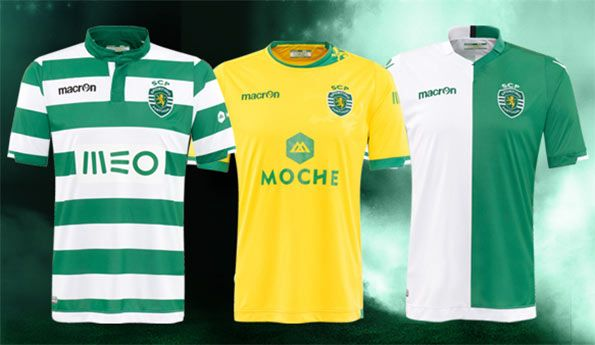 Sporting Lisbona kit 2014-2015
