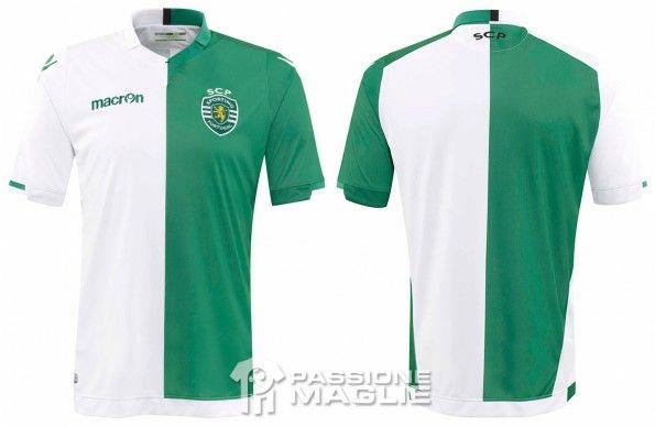 Maglia Sporting Lisbona dedicata a Francisco Stromp