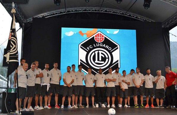 Presentazione squadra Lugano 2014-15