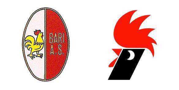 Logo Bari prima e dopo 1979-80