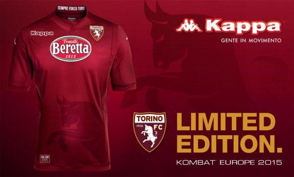 Maglia Torino Europa League 2014-15 edizione limitata