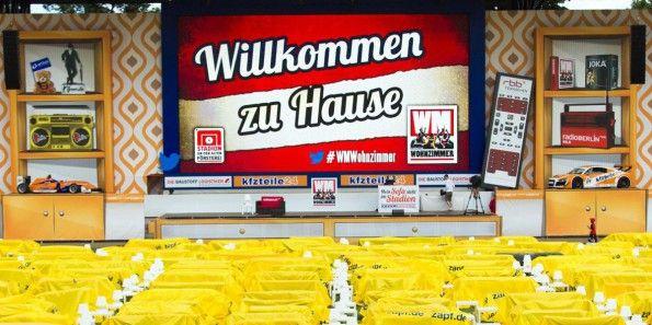 Union Berlin, mondiali 2014, stadio salotto, logo iniziativa