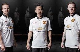 Kit away Manchester United 2014-2015