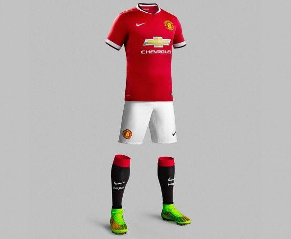 Divisa Manchester United 2014-2015 casa