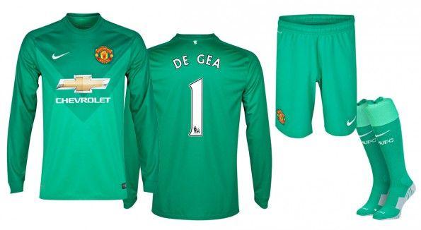 Maglia portiere Manchester United 2014-15 verde