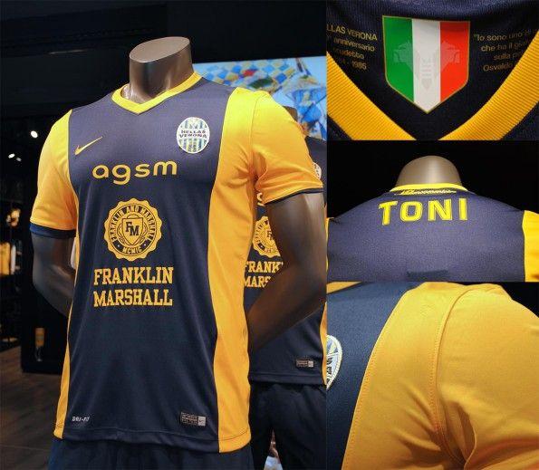 Maglia Hellas Verona 2014-2015
