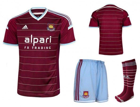 Maglia West Ham home 2014-2015