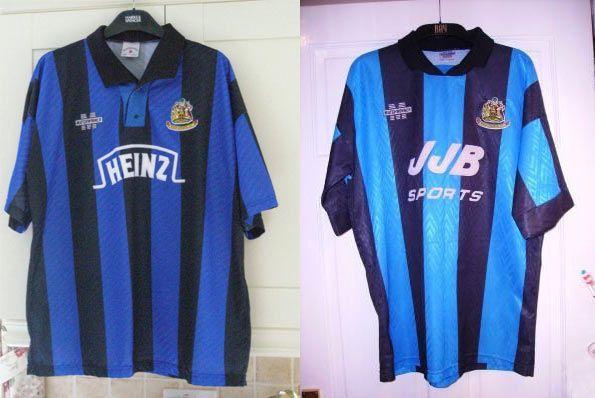 Wigan kit home 1993-1995