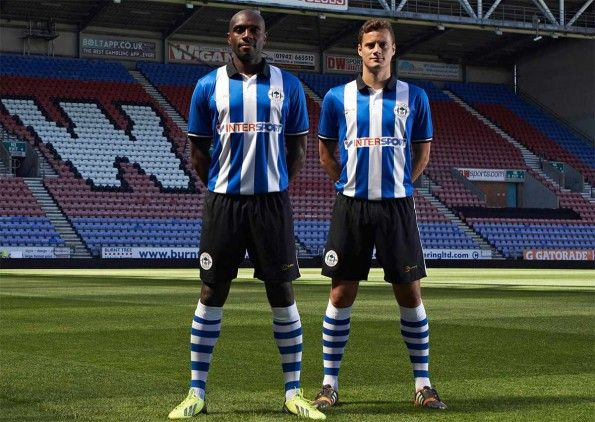 Kit Wigan Athletic 2014-2015