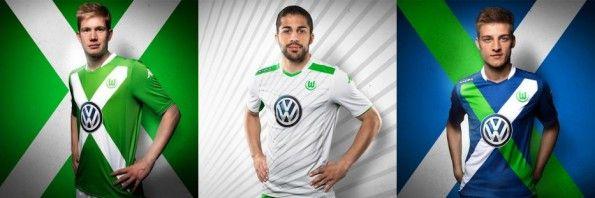 Wolfsburg maglie 2014-15