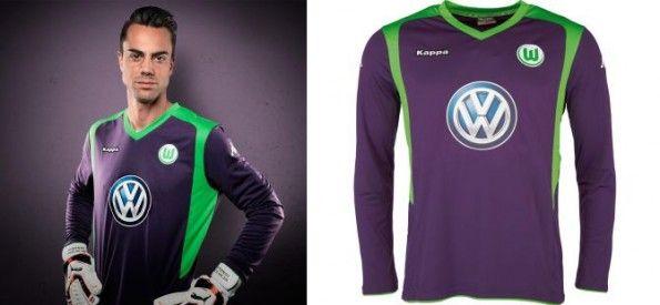 Wolfsburg divisa portiere 2014-15