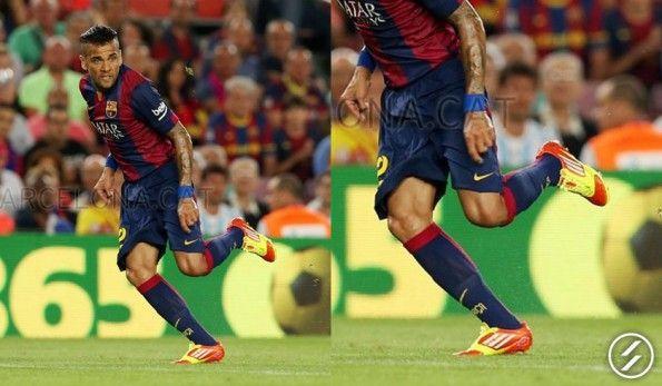Dani Alves scarpe F50 micoach