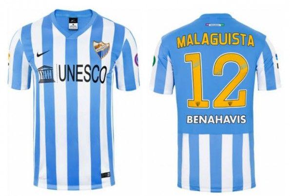 Maglia Malaga 2014-2015 home