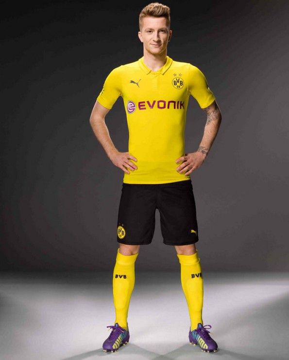 Divisa Authentic Borussia Dortmund Champions League 2014-2015