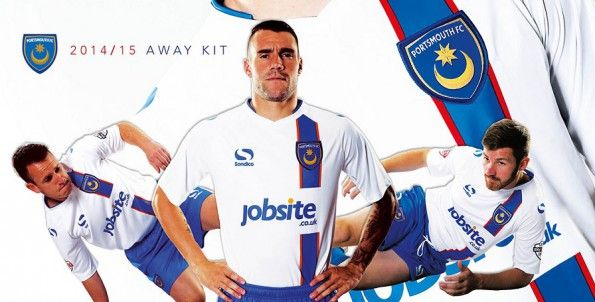 Divisa trasferta Portsmouth 2014-2015