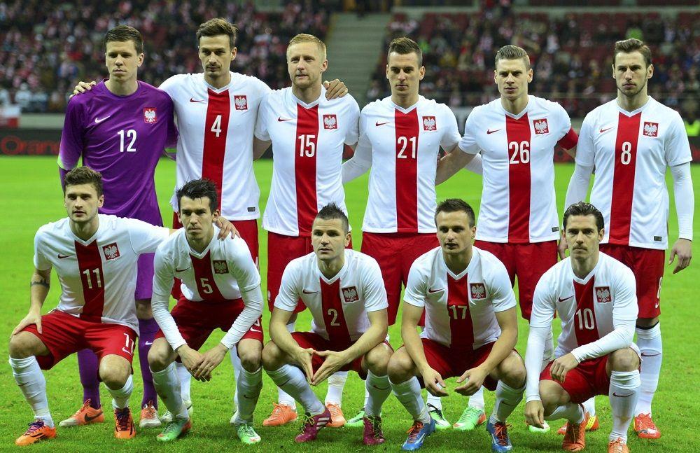 Divisa Polonia 2014-2016 home