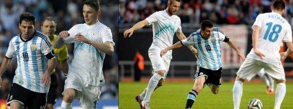 Match Slovenia-Argentina 2014