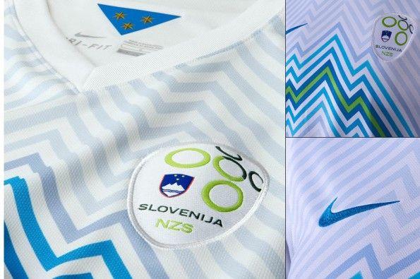 Dettagli prima maglia Slovenia 2014-2016