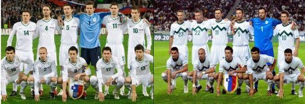 Maglia bianco-verde Slovenia
