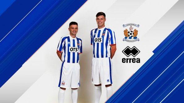 Kilmarnock kit home 2014-2015 Erreà