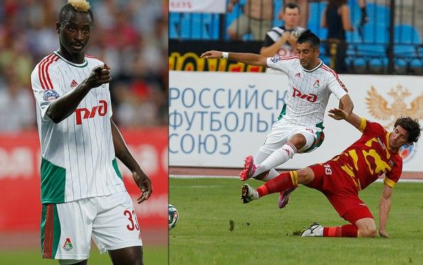 Kit away Lokomotiv Mosca 2014-15