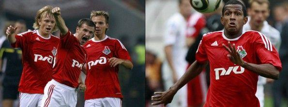 Maglia Lokomotiv Mosca 2010-2011 adidas