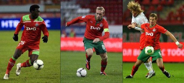 Maglie Lokomotiv Mosca firmate Puma 2011-2014