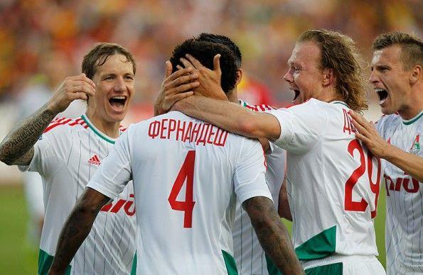 Font Lokomotiv Mosca adidas 2014-15