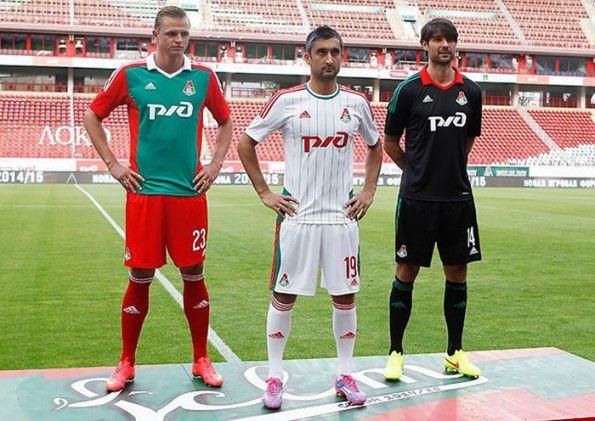 Presentazione maglie Lokomotiv Mosca 2014-2015