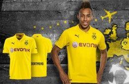 Kit Borussia Dortmund Champions League 2014-2015