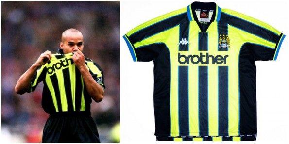Maglia trasferta Manchester City 1999 Kappa