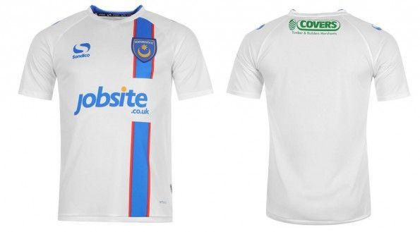 Seconda maglia Portsmouth 2014-2015