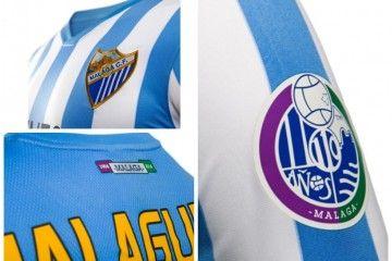 Patch 110 anni maglia Malaga CF