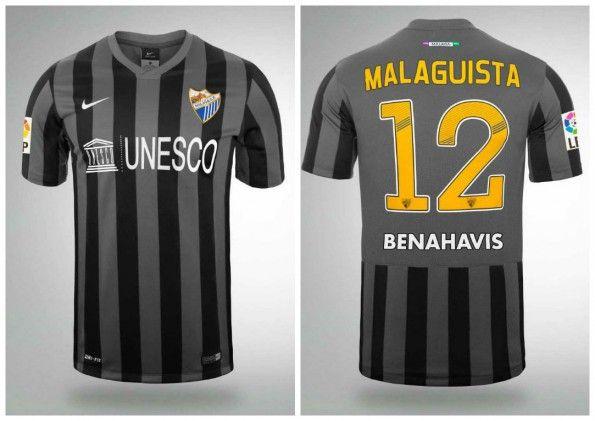 Seconda maglia Malaga 2014-2015