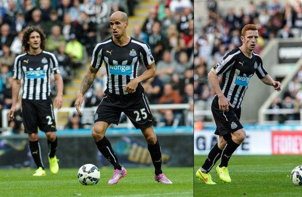 Newcastle United divisa home 2014-15