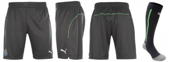 Pantaloncini Newcastle portiere grigi 2014-15